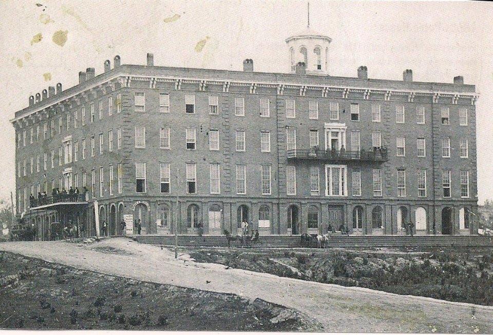 Patee House 1858