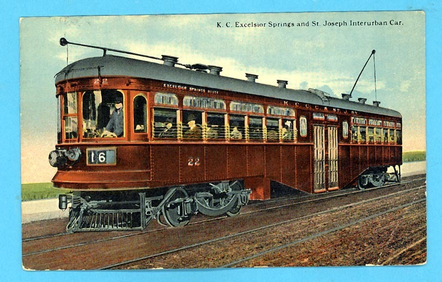 St. Joseph Mo Interurban Car