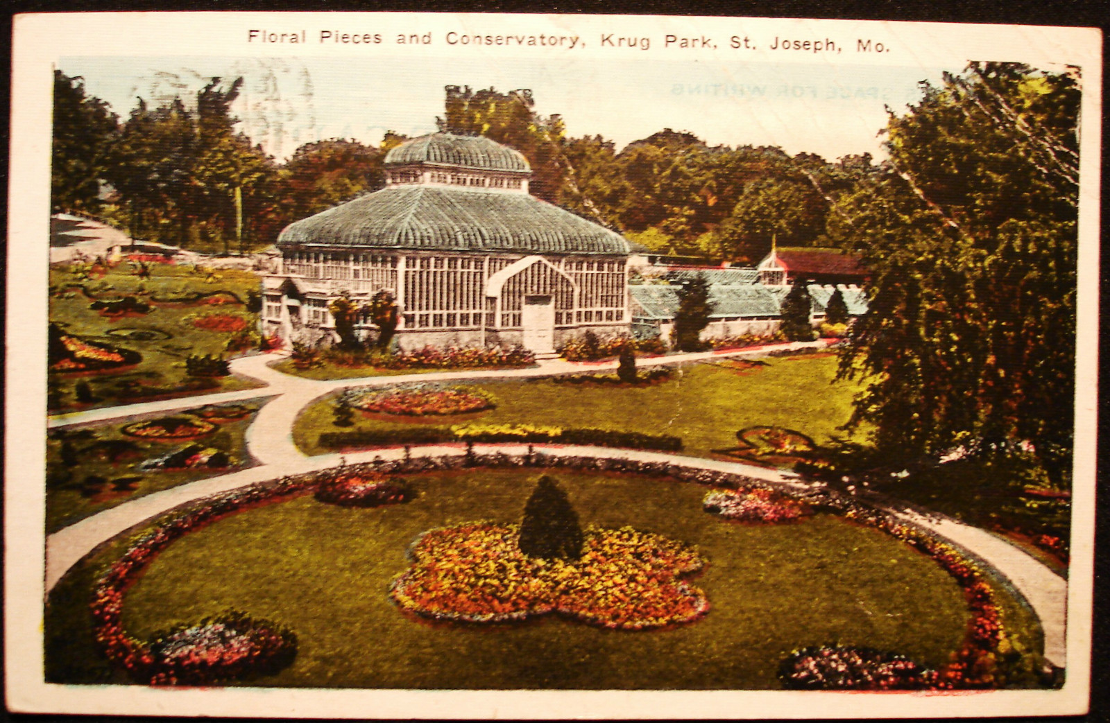 Krug Park Floral Pieces and Conservatory – St. Joseph Mo