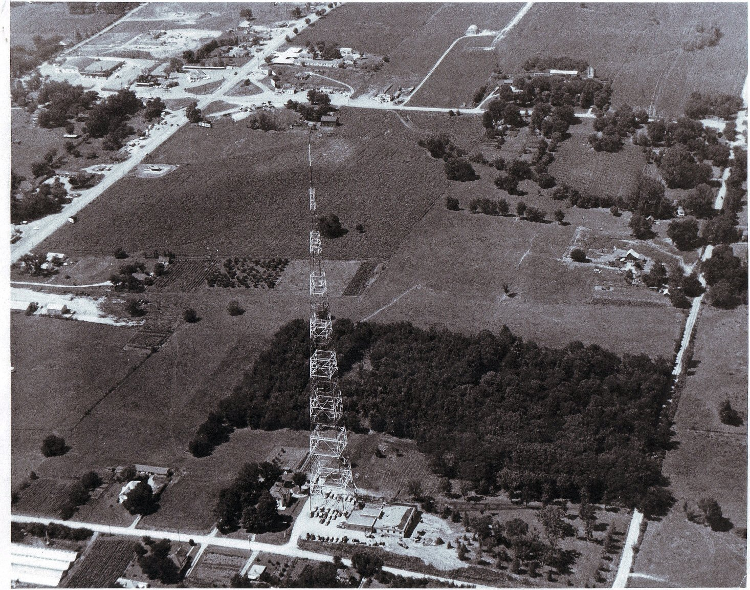 Aerial View KQ2 Tower St. Joseph Mo