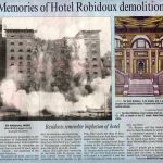 Hotel Robidoux Demolition