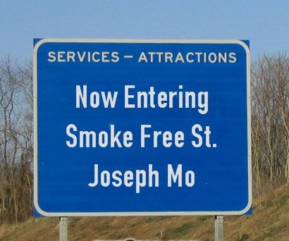 Now Entering Smoke Free St. Joseph Mo