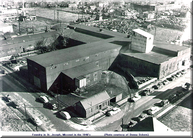Foundry in Joseph Missouri 1940s