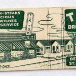 Tik Tok Motel Matchbook Cover St. Joseph Mo