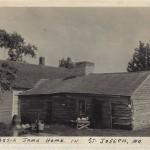 Jesse James Home in  St. Joseph Mo