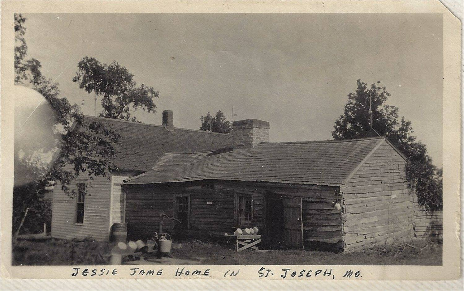 Jesse James Home in  St. Joseph Mo