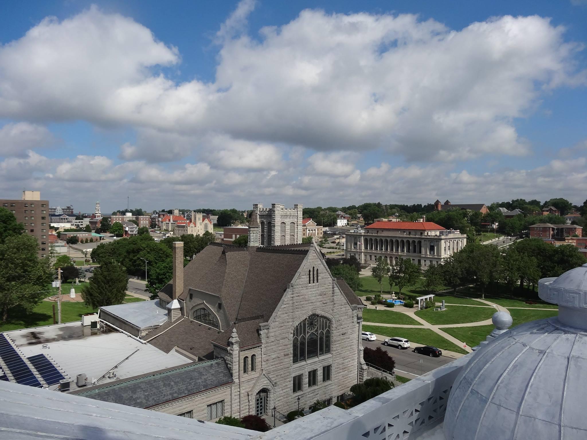 City Hall St. Joseph Mo Ariel View