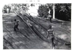 Krug Park Slides St.  Joseph Mo.