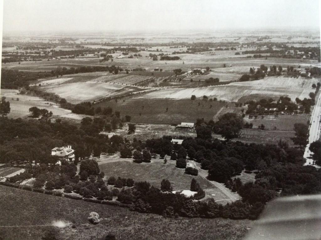 Aerial View Wyeth Mansion St. Joseph Mo