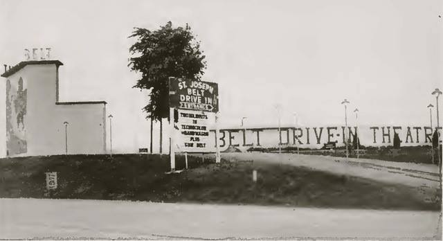 St. Joseph Mo Belt Drive In Theatre