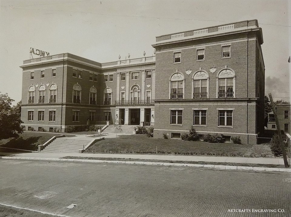 YWCA building (1914) at 304 N. 8th Street. Architect Walter Boschen