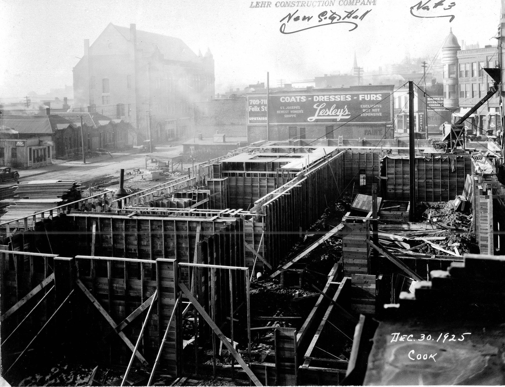 City Hall Early Contruction