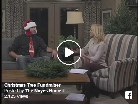 Noyes home for children christmas tree fundraiser i love for Noyes home