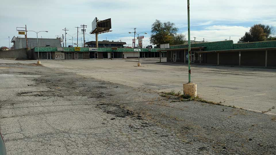 So Much Empty Business Real Estate in St. Joseph.
