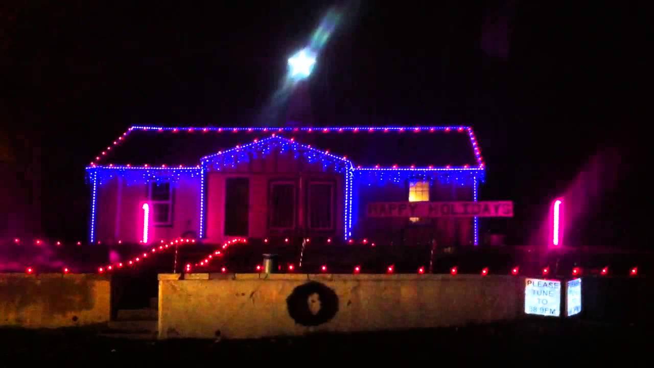 Christmas Lights on Commercial Street St. Joseph Mo