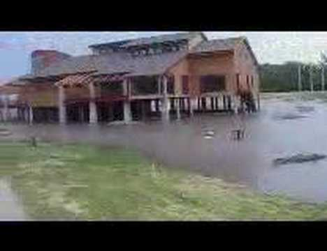 Missouri River Flood 2008 (Saint Joseph Missouri)