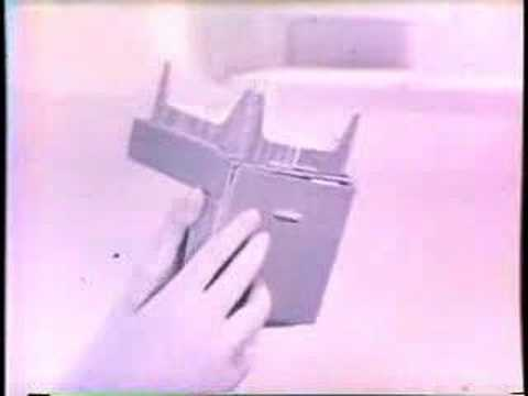 Vintage Barbie Dream House & Furniture Commercial 60s