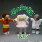 "VINTAGE 80'S CABBAGE PATCH KIDS COMMERCIAL ""OPEN YOUR HEARTS"""