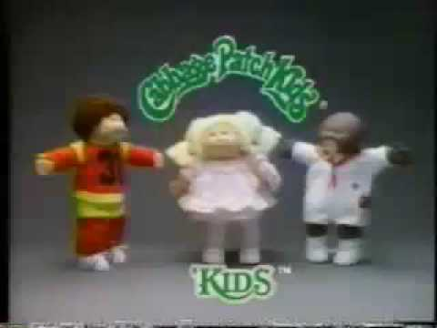 """VINTAGE 80'S CABBAGE PATCH KIDS COMMERCIAL """"OPEN YOUR HEARTS"""""""