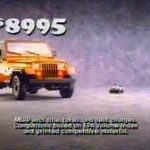 Vintage Commercial: Jeep Wranger (1988)