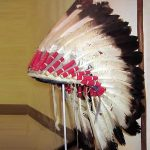 Native American history exhibits at the St. Joseph Museum in St. Joseph, MO