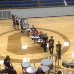 Central High School Indoor Drumline 9-25-14 (St. Joseph, MO) – First full ensemble run through