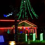 Dancing Christmas Lights Chipmunk Christmas Song Saint Joseph Missouri