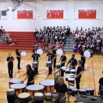 sjsd Central High School's 2014 Drum Line at Carrollton Missouri's Competition