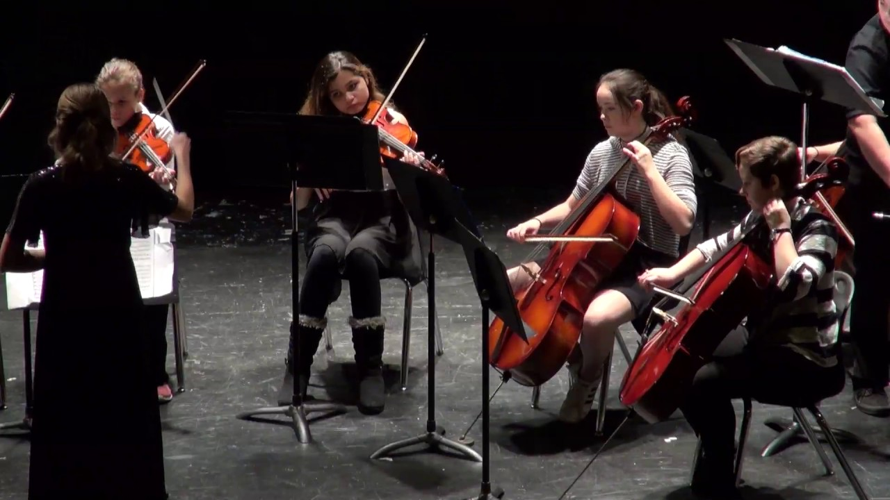 Benton High School and Spring Garden Middle School Winter Orchestra Concert recorded December 6, 2016 in St. Joseph, Missouri