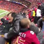 Massive brawl breaks out among fans at Oakland Raiders-Kansas City Chiefs game