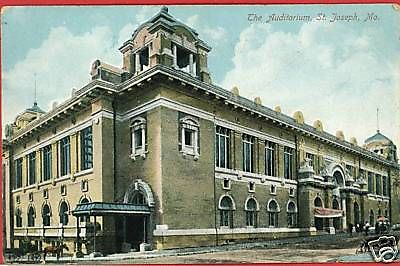 St. Joseph Missouri Auditorium