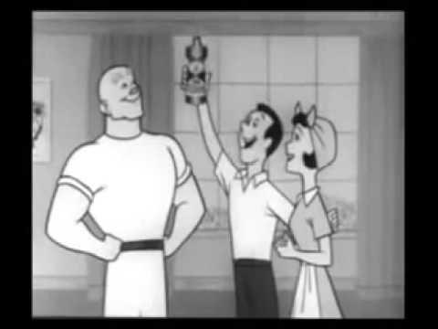 1950s Vintage Mr. Clean Commercial