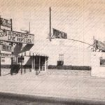 Black & white photo of Flinchpaugh's St. Joseph Mo