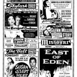 Movie ad from Durwood Theatres from May 1,1955
