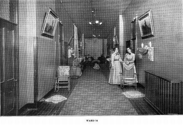 Saint Joseph State Hospital Women's Ward 1907