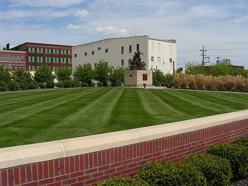 Enclave for Saint Joseph Millennium Pioneer Sculpture