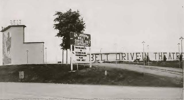 Belt Drive In Theater St. Joseph Mo