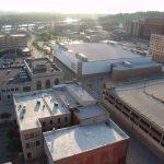 Downtown St. Joseph Mo Aerial View