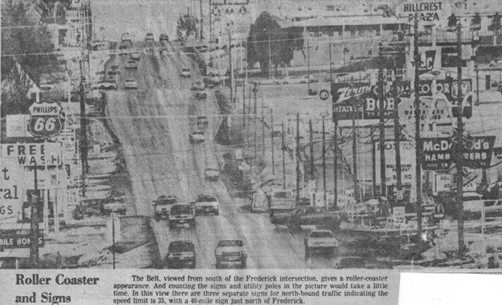 Belt Highway in the 1970s