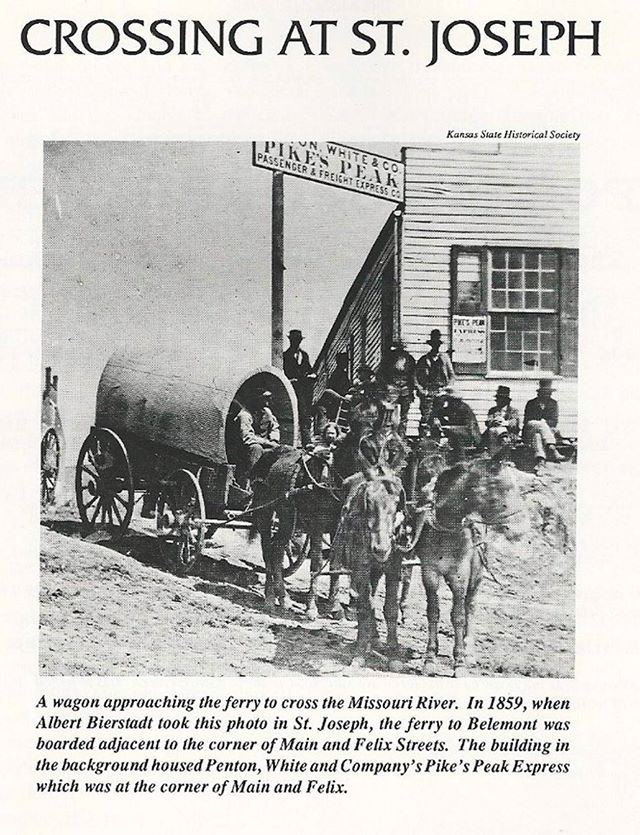 1859 photo Crossing at St. joseph