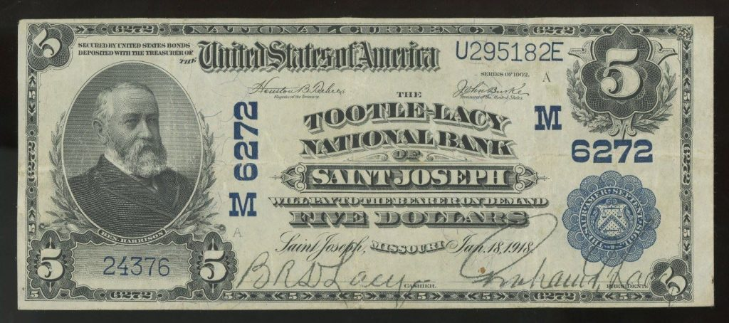 1902 Tootle-Lacy Bank St. Joseph
