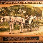 1910 ST. JOSEPH MISSOURI Lover's Lane by Eugene Field