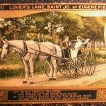 1910 ST. JOSEPH MISSOURI Lover's Lane by Eugene Field