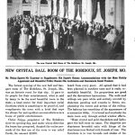 1917 SJ News-Press article Crystal Ballroom