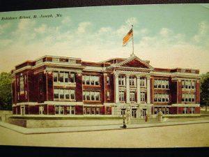 1924. Robidoux School - I Love St. Joseph Mo