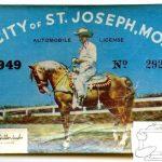 1949 City Sticker.
