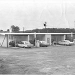 1963 photo of Archdekin's car wash