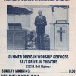 1980 June 22 Church services at Drive-In 2