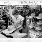 1983 STETSON Hats Crafted Stevens Hat Manufacturing St Joseph Missouri