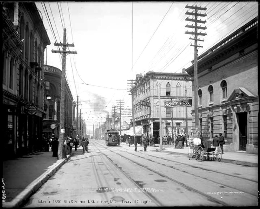 5th & Edmond 1890
